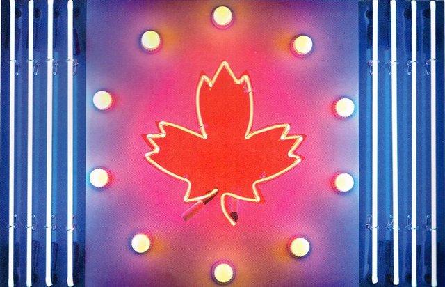 """Ted Godwin, """"Canada Flag,"""" 1965"""