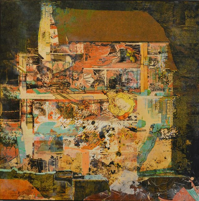 """Robin Smith Peck, """"Playing House,"""" n.d."""