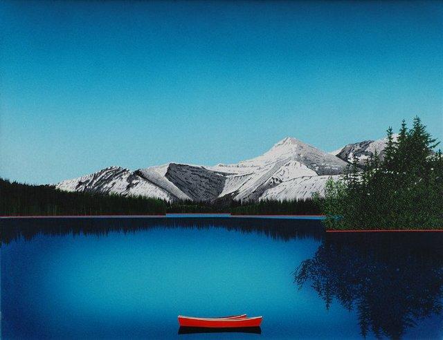"David Thauberger, ""Crystal Water,"" 2017"