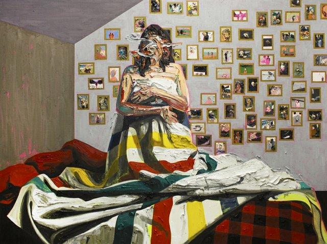 "Kim Dorland, ""Bay Blanket #3,"" 2014"