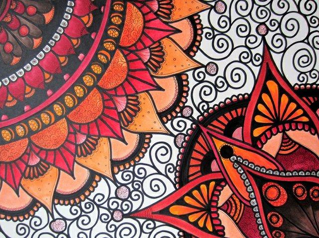 """Sonia Kandera, """"Mandala Love,"""" 2017"""