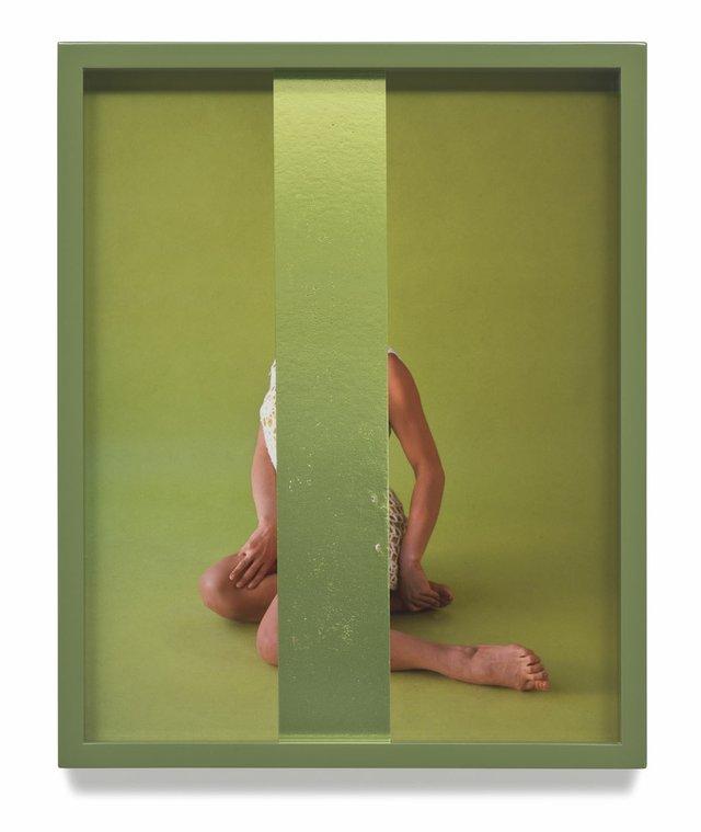 "Elad Lassry, ""Untitled (Green),"" 2014"