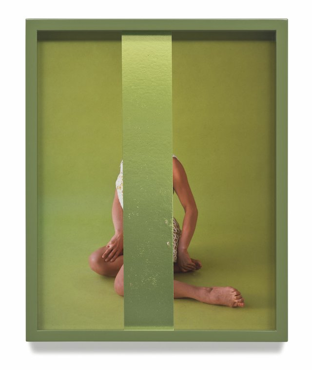 "Elad Lassry, ""Untitled (Green),"" 2014"