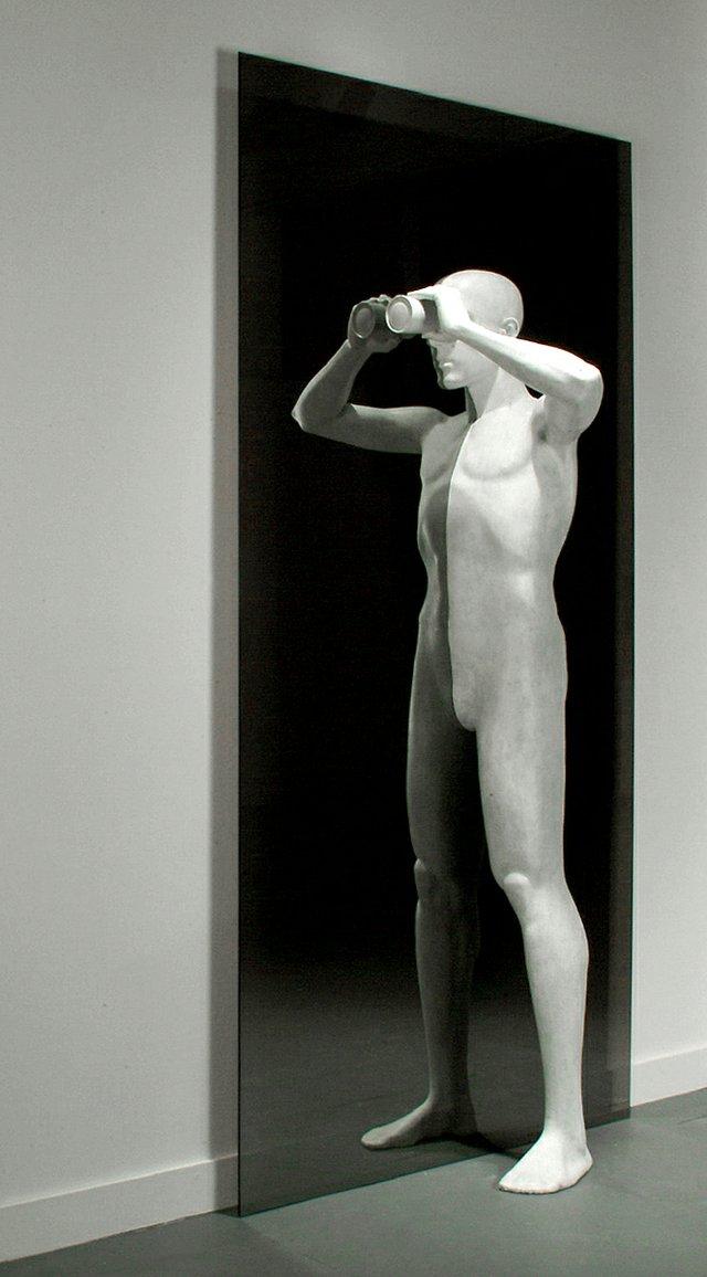 "David Robinson, ""Binary Vision,"" 2003"