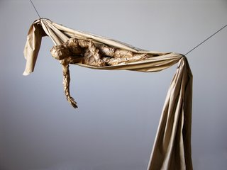 "David Robinson, ""Draped Figure,"" 2009"