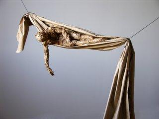 "David Robinson, ""Draped Figure,"" 2009"