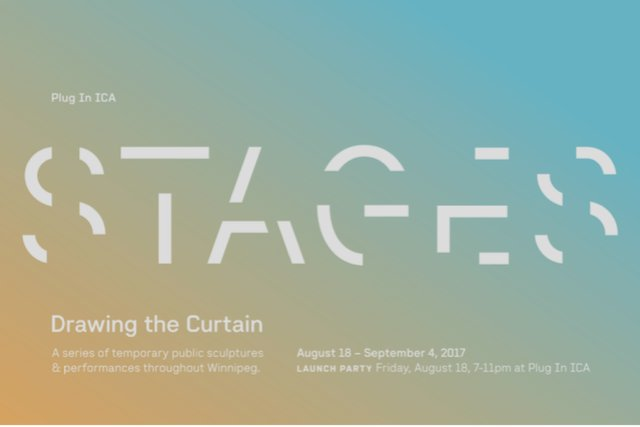 Stages: Drawing the Curtain, Invitation