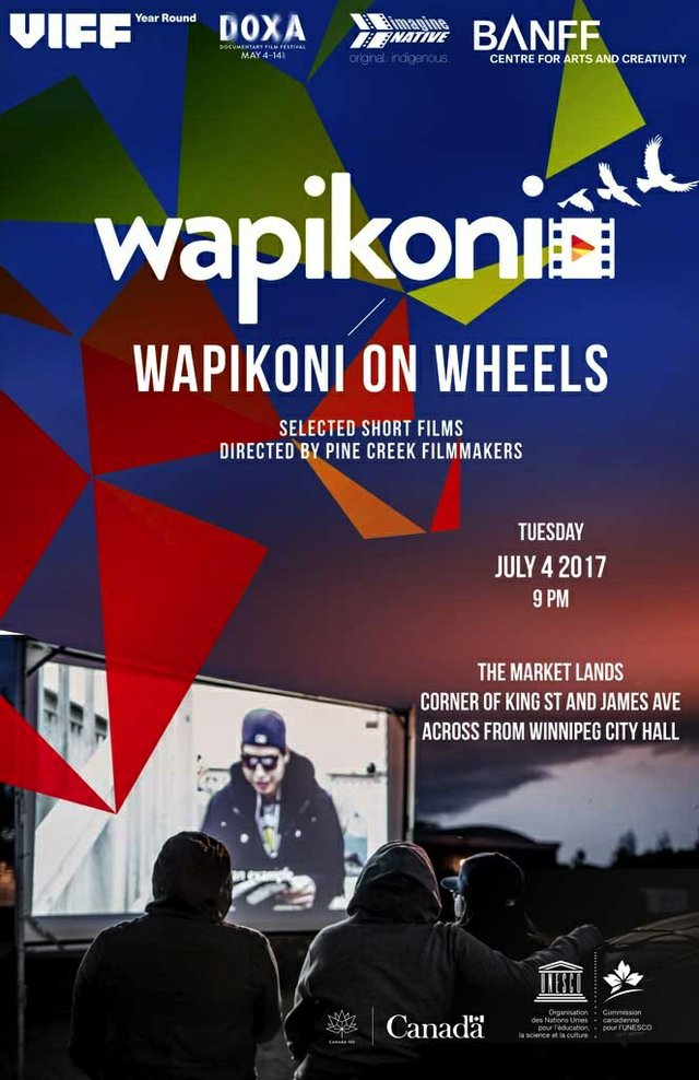 Wapikoni on Wheels, Invitation
