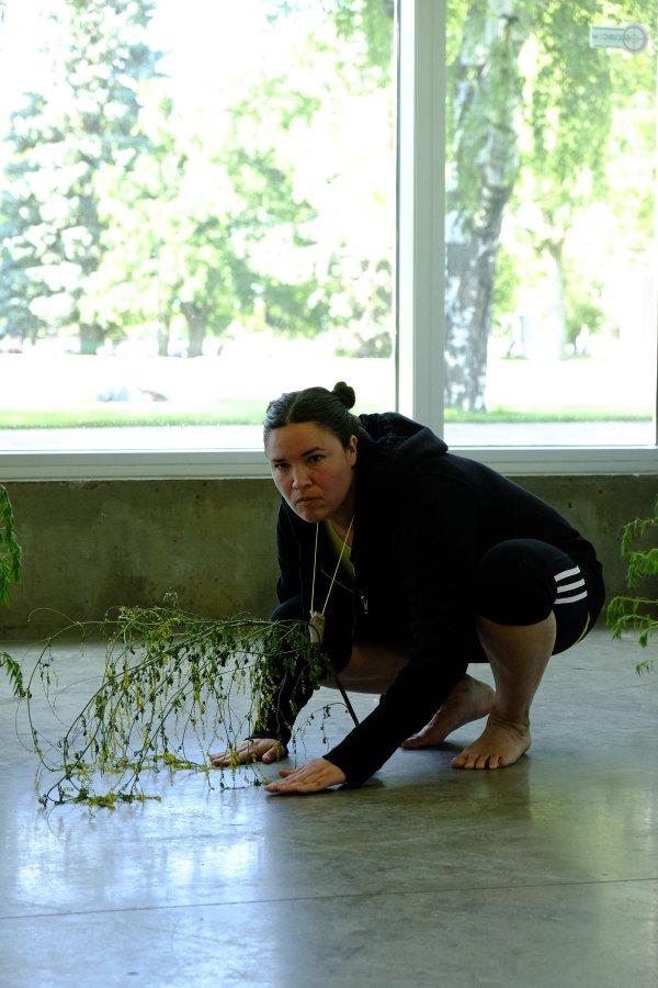 "Maria Hupfield, ""Performance Lab: Lethbridge,"" 2017"