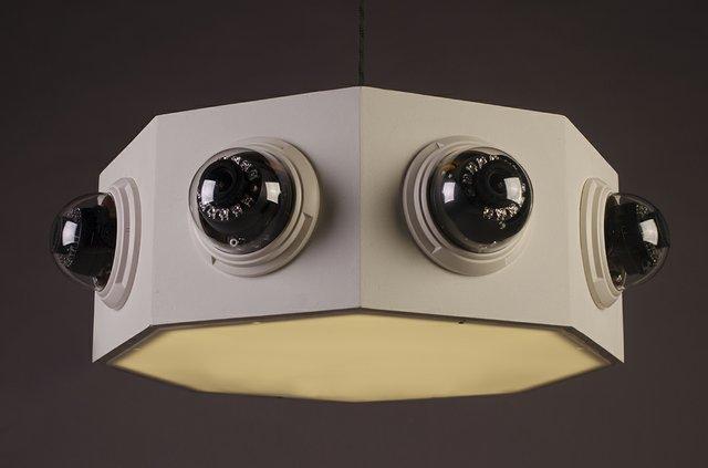 "Levi Glass, ""Panoptic Circuit (image device),"" 2017"