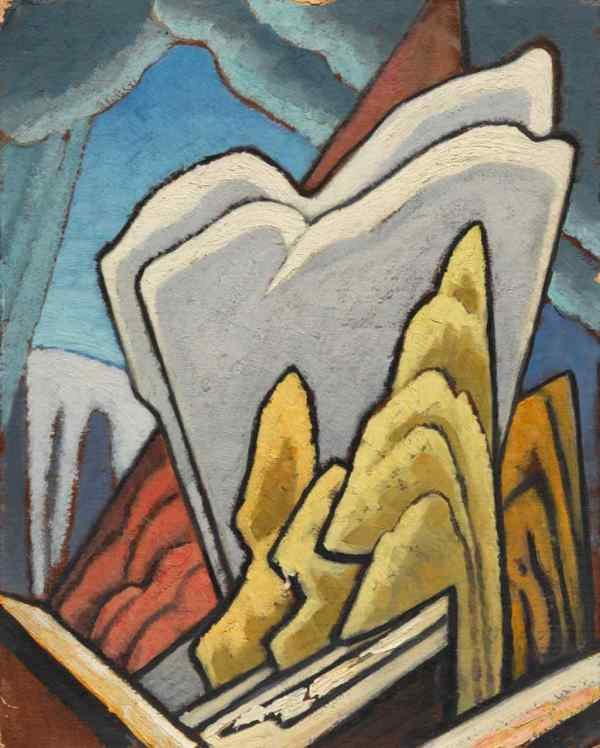 "Lawren Harris, ""Autumn: Design for a Panel,"" c. 1945"