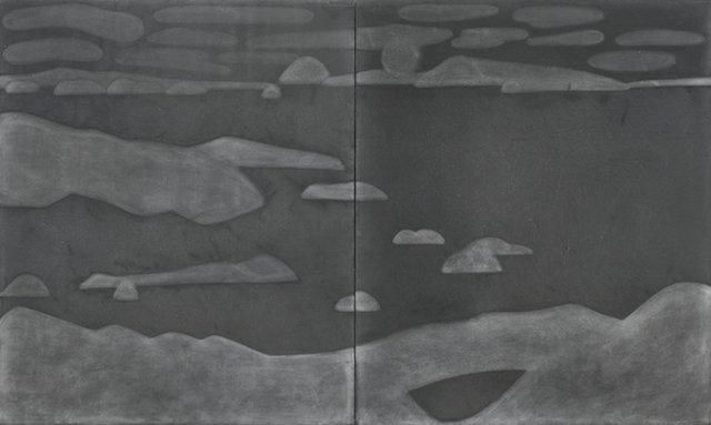 "Otto-Knapp, ""Monotones Moonlit Scene, After Samuel Palmer,"" 2016"
