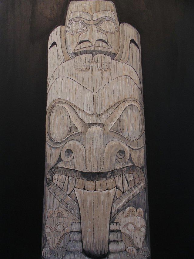 "Randall Cousins, ""Fallen Totem Pole,"" 2017"