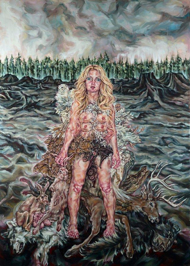 "Tammy Salzl, ""The Chorus,"" 2011"