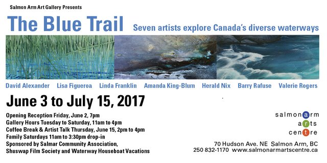 Blue Trail Invitation