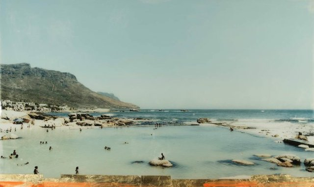 "Christine Flynn, ""Camps Bay Pool,"" nd"