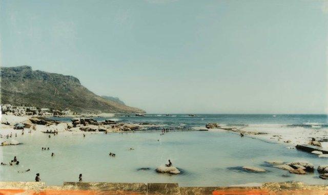 "Christine Flynn, ""Camps Bay Pool,"" nd"