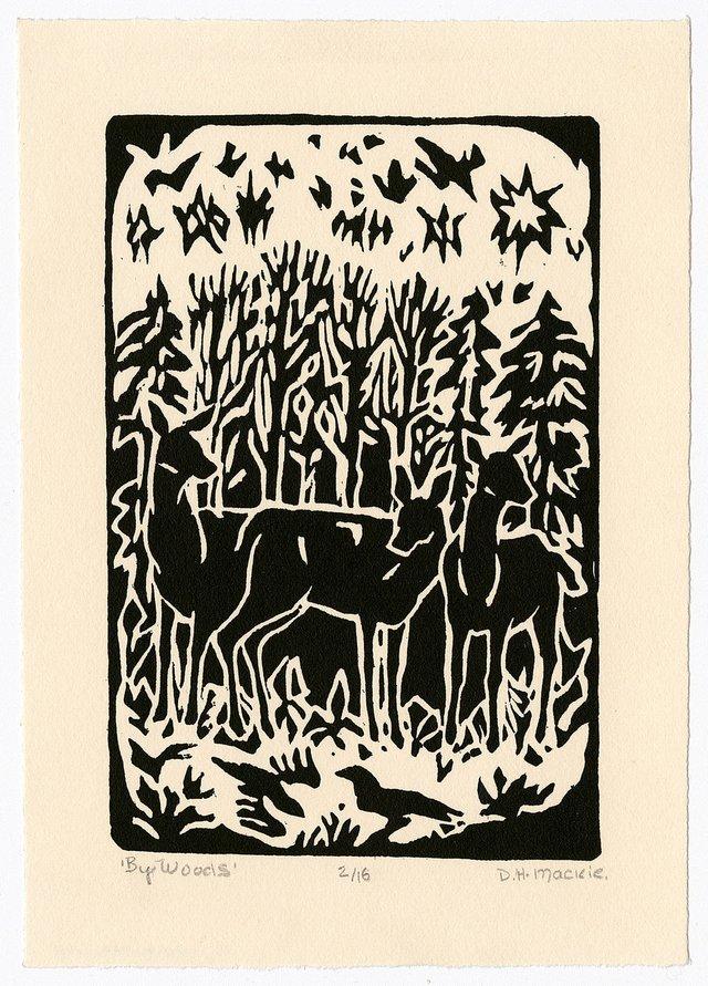 "D. Helen Mackie, ""By Woods I,"" 2003"