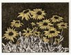 "D. Helen Mackie, ""August: Brown Eyed Susans,"" in ""Leaves of a Year,"" 1991"