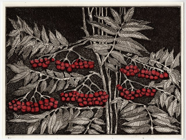 """D. Helen Mackie, """"Leaves of a Year,"""" 1991"""