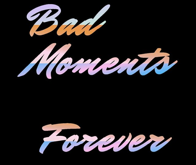 "Conrad Marion, ""Bad Moments Forever,"" 2017"