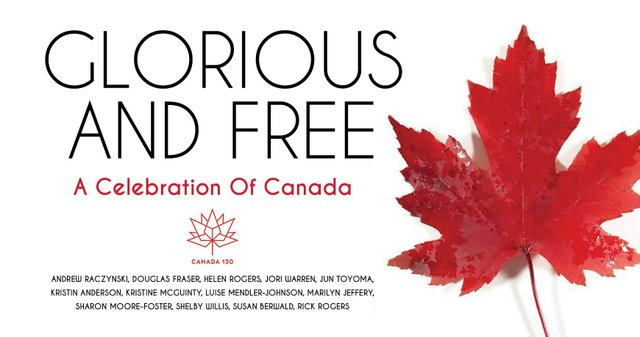 Glorious and Free: A Celebration of Canada Invitation