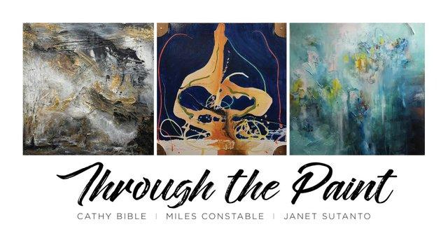 Through the Paint Invitation