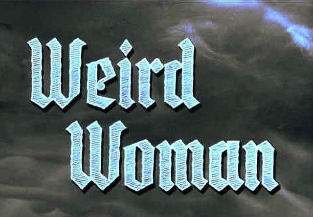 """Weird Woman"" Invitation"