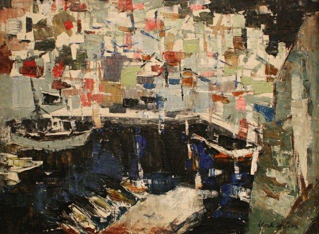 "York Wilson RCA ALC CGP OSA (1907-1984), ""Petit Port Hydra,"" nd"