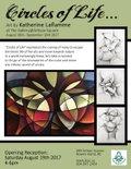 "Katherine Laflamme, ""Circles of Life, Invitation,"" 2017"