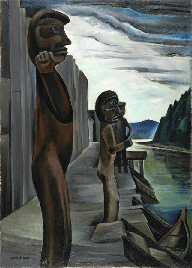 "Emily Carr, ""Blunden Harbour,"" circa 1930"