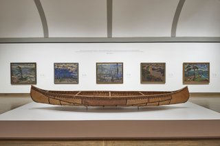 Canadian and Indigenous Art: From Time Immemorial to 1967, installation view, June 2017