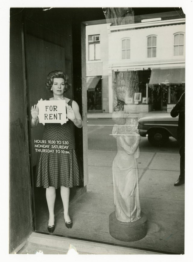 "Unknown Photographer, ""Dorothy Cameron, Toronto art dealer,"" 1965"
