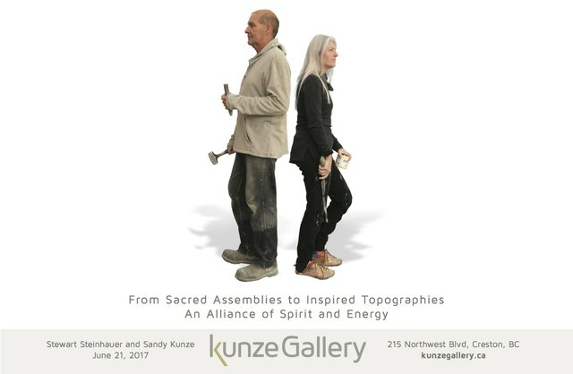 Stewart Steinhauer and Sandy Kunze, Buffalo Dream Invitation