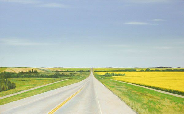 "Adele Knowler, ""Sturgeon Valley #,"" nd"