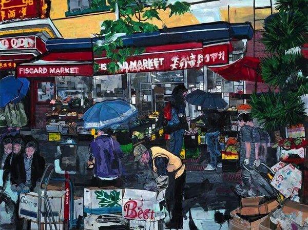 Locals: an art exhibit featuring Mitchell Villa, Nathan NAZO Davis, Kristofer Parley, Invitation