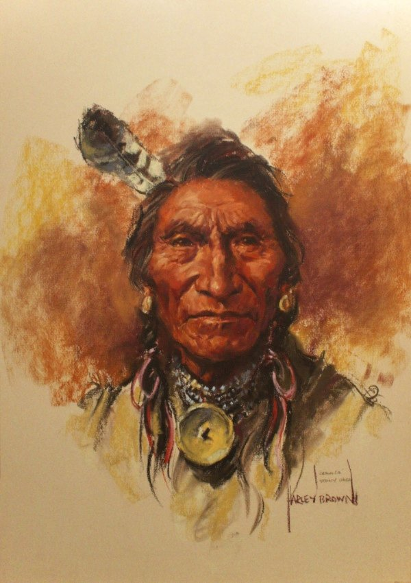 "Harley Brown, ""Crawler, Stony Chief,"" nd"