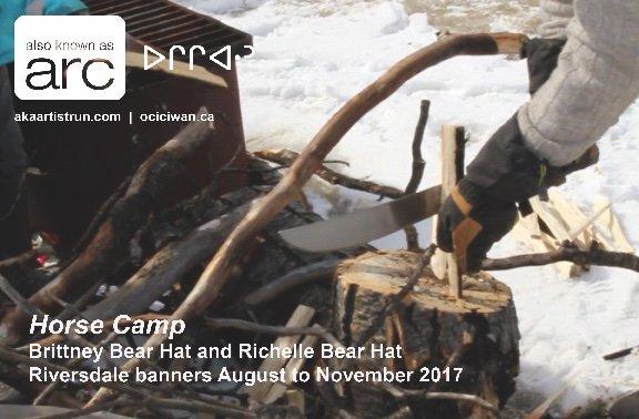 """Brittney Bear Hat & Richelle Bear Hat,  """"Bear Hat archive,"""" 2014"""