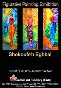 "Shokoufeh Eghbal, ""Figurative Painting Exhibition,"" 2017"