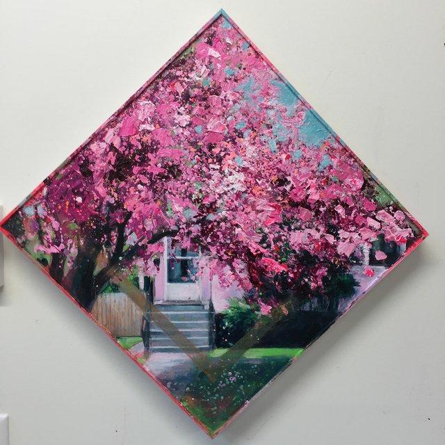 """Marcia Harris, """"Blending In,"""" 2017"""
