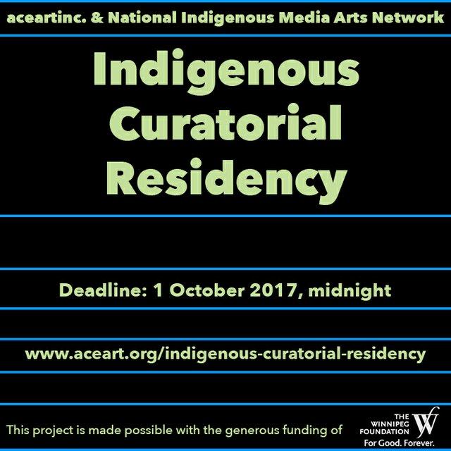 Indigenous Curatorial Residency