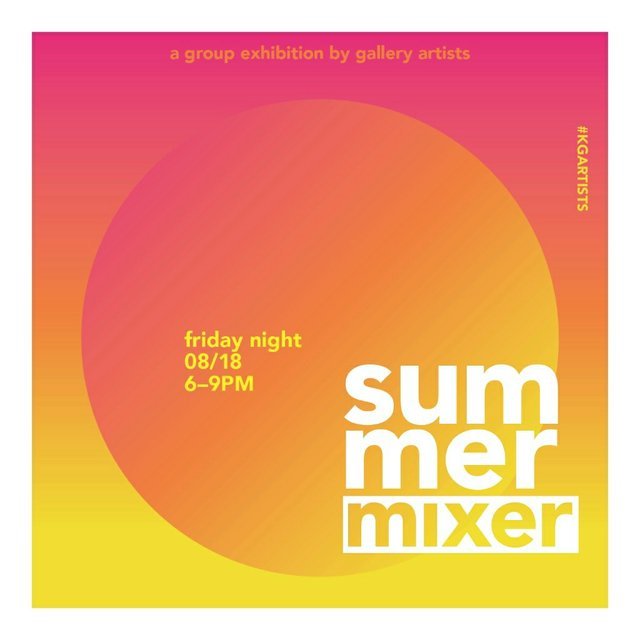 Kimoto Gallery Summer Mixer Invitation