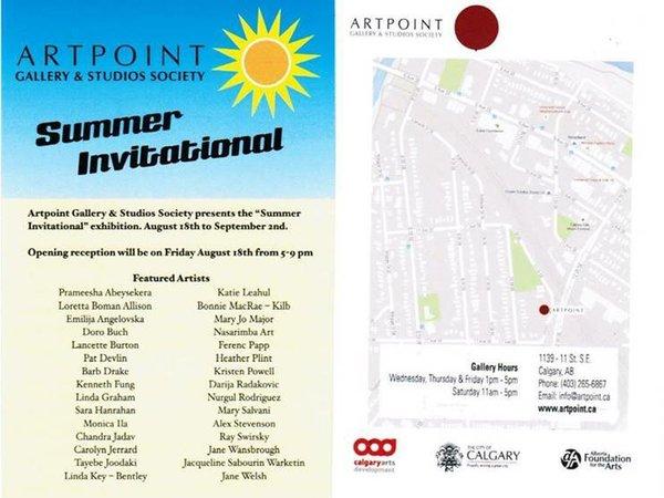 Summer Invitational Poster