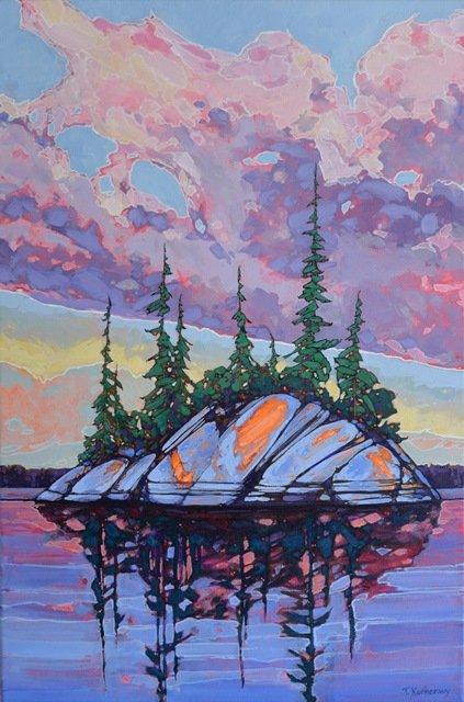 """Tracey Kucheravy, """"Best of Both Worlds - Shoal Lake 1,"""" nd"""