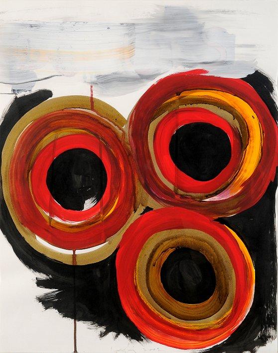 "Vincent Inconiglios, ""DONUT SERIES # 28,"" 2002"