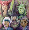 """unknown, """"DISOBEDIENT WOMEN: DEFIANCE, RESISTANCE, CREATION AND IMAGINATION,"""" Invitation"""