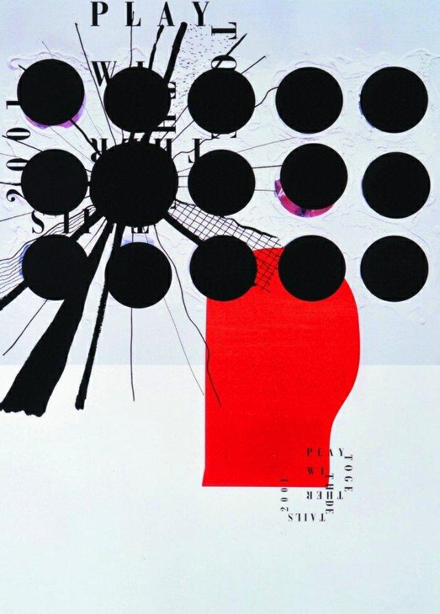 """Shin Matsunaga, """"The Graphic Appetite: Poster Exhibition,"""" 2017"""
