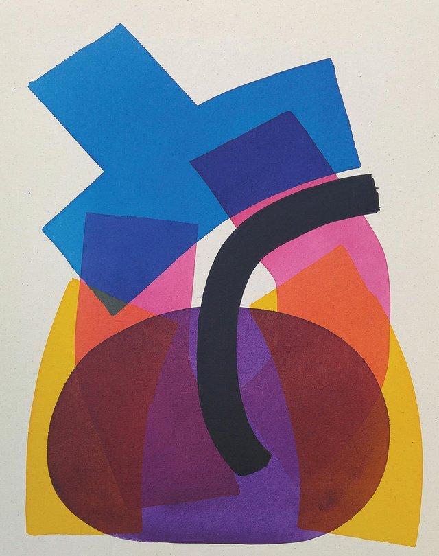 "Aron Hill, ""Colour Blocks 1,"" 2017"
