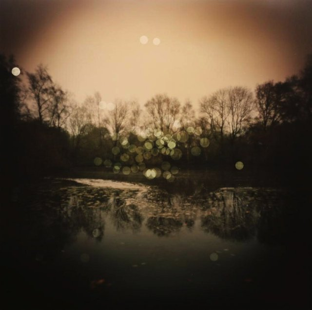 """Dianne Bos, """"Pool of Peace, The Spanbroekmolen Mine Crater, Belgium,"""" 2014"""