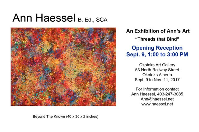 Ann Haessel invitation